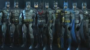 batman arkham origins skins costumes suits xbox 360 ps3