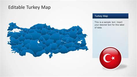 Turkey Map Template For Powerpoint Slidemodel Turkey Powerpoint Template