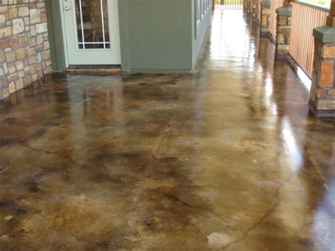 Concrete Garage Floor Stain by 17 Best Images About Acid Staining Beautiful Stains And