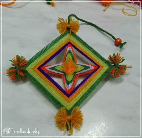 imagenes del ojo de dios diy mandala ojo de dios huichol paperblog