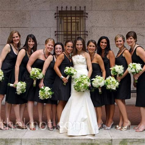what color bm shoes with black dresses weddingbee