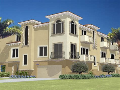 house plans multi family multi family house plans triplex idea home and house