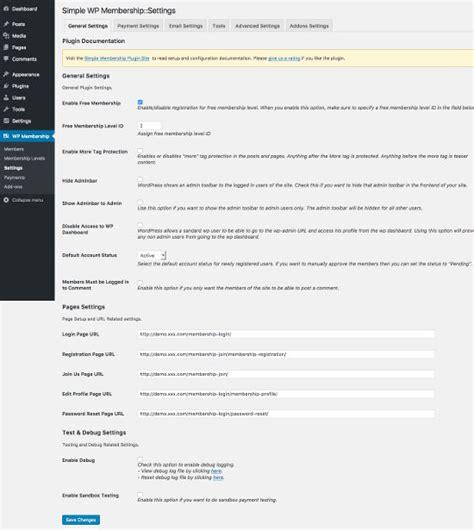 membuat situs wordpress gratis simple membership plugin gratis untuk membuat situs