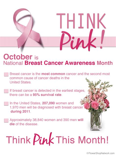 Dont Forget October Is National Breast Cancer Awareness Month by Think Pink This October