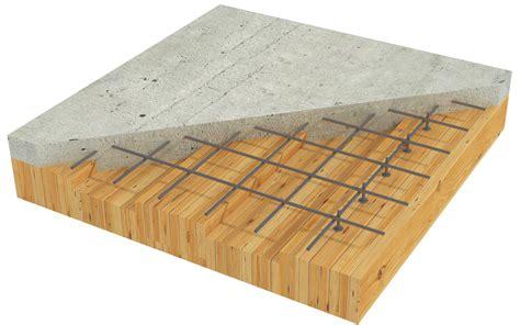 Clt Floor Panels by Timber Concrete Composite