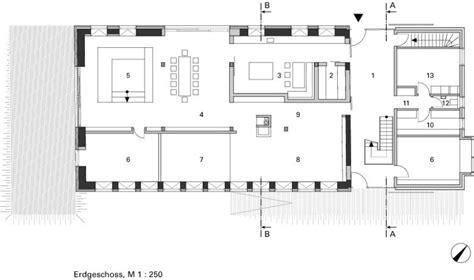 speisekammer grundriss wohnen in der betonskulptur wohnhausneubau in einer