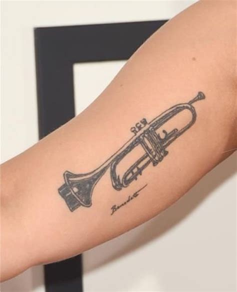 trumpet tattoo 10 truly great trumpet ideas