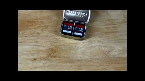 how to make memory card altoids quot smalls quot diy sd memory card holder holds 12 cards