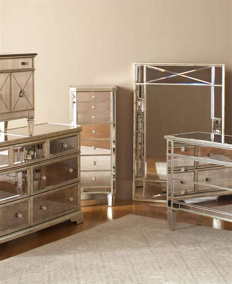 Bedroom Fabulous Mirrored Set Of Drawers Glass Bedroom Mirrored Bedroom Dresser