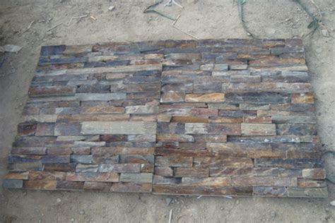 the gallery for gt natural stacked stone wall