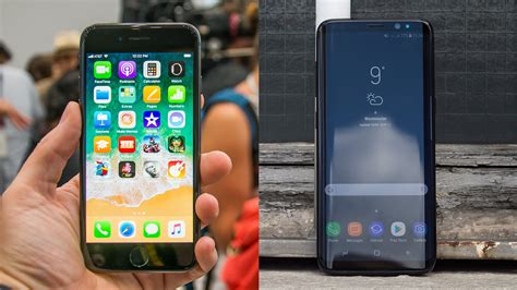 Iphone V Samsung by Iphone 8 Vs Samsung Galaxy S8 Can Apple S Slay Samsung S Expert Reviews