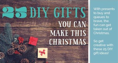 25 christmas gifts you can make in 10 minutes i2mag com