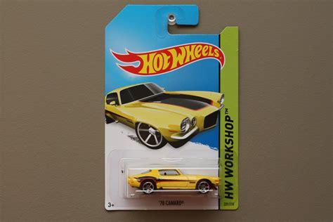 Hotwheels 70 Camaro 33 wheels 2014 hw workshop 70 camaro yellow