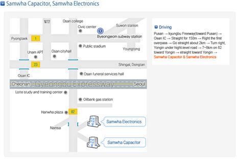 samwha capacitor distributors in india samwha capacitor manufacturer in passive component market in korea