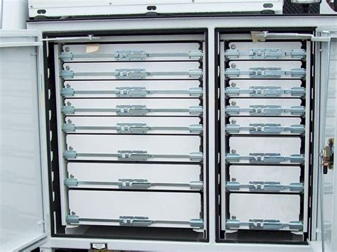 service truck cabinet tool box drawers accessories truck utilities