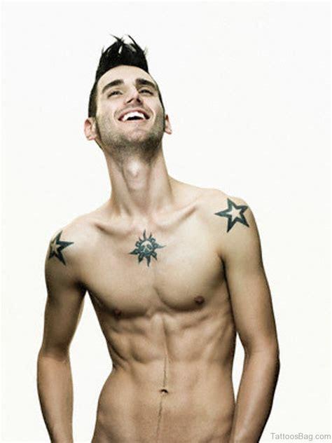 jewish star tattoo 51 great tattoos on chest