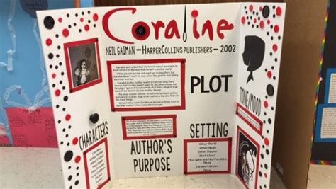 tri fold book report projects ridge book fair excites students about reading