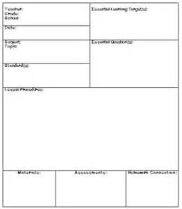 Lesson Plan Template Ohio by Lesson Plan Template Ohio Best 10 Lesson Plan Templates