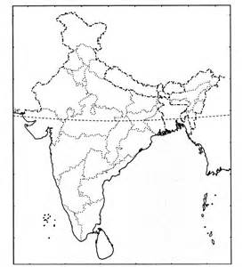 India Political Map Outline With States by Cbse Sle Papers For Class 9 Sa2 Social Science Solved 2016 Set 14