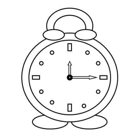 imagenes para colorear reloj kolorowanka zegar 171 maluchy pl