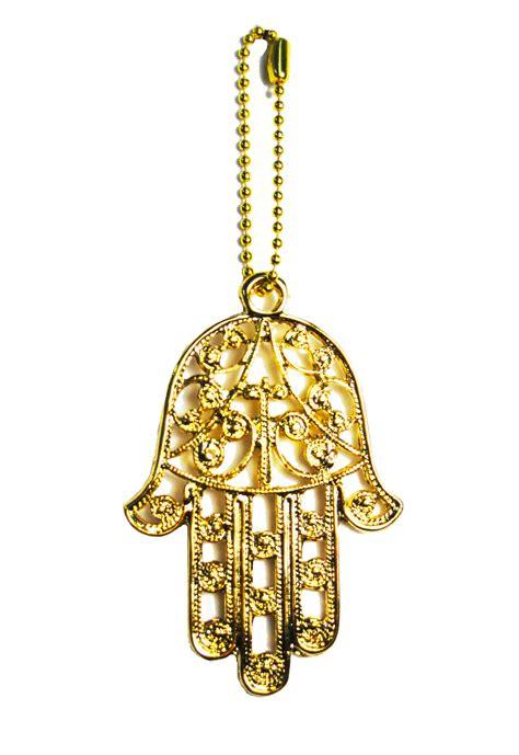 gold filigree hamsa charm yaelle