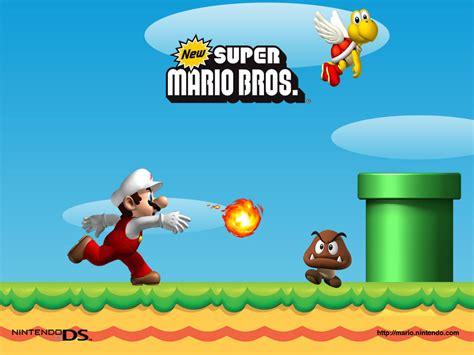 super mario brios new super mario brothers super mario bros wallpaper