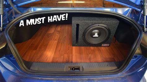 BRZ Gets Hardwood Trunk!!   YouTube