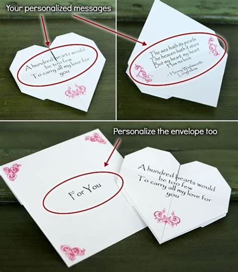 Origami Gifts For Him - how to make origami notes step by step