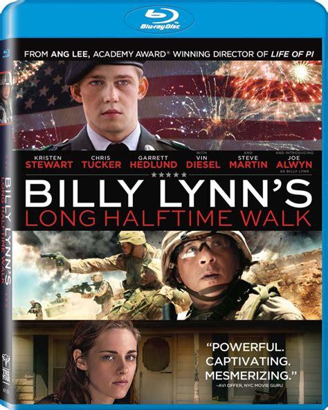 film blu ray 3d billy lynn s long halftime walk dvd release date february