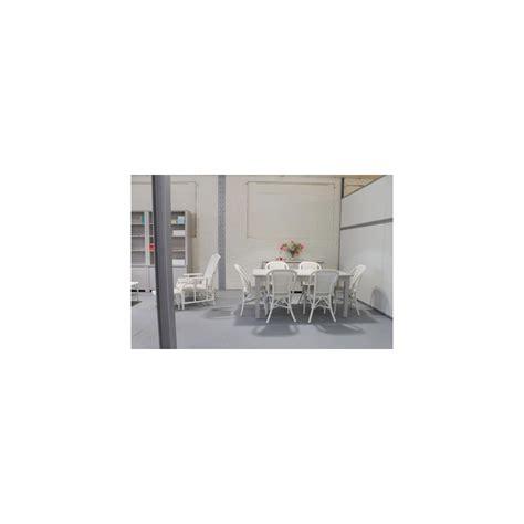 Chaise En Rotin Blanc by Chaise Grand Pere En Moelle De Rotin Blanc