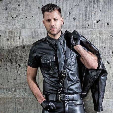 rob of berlin guys leather and models on