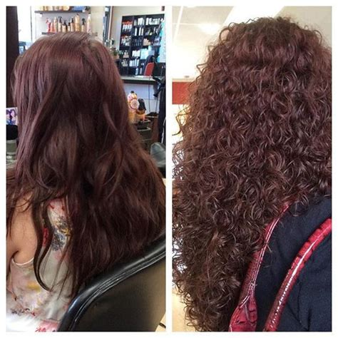 perms before and after very pretty spiral perm before and after hmmm