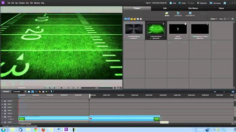 make a american football video intro in adobe premiere