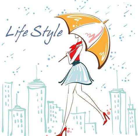 fashion jewelry images illustrations vectors fashion free vector fashion city girl illustration 02 titanui