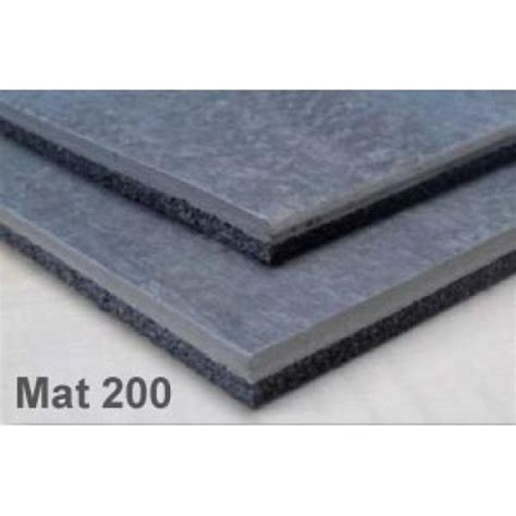 isocheck impact mat 200 acoustic insulation timber