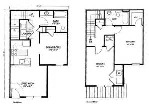 Two Story Floor Plan Two Bedroom House Plans With Dimensions Studio