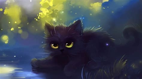 Cat Wallpaper (Cartoon, Eyes, Black) HD Cat Wallpaper