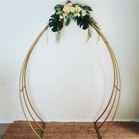 Wedding Arch Gold by Gold Metal Wedding Arch Ceremonies I Do