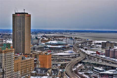 Phone Lookup Buffalo Ny Winter Skyway Downtown Buffalo Ny Photograph By Michael Frank Jr