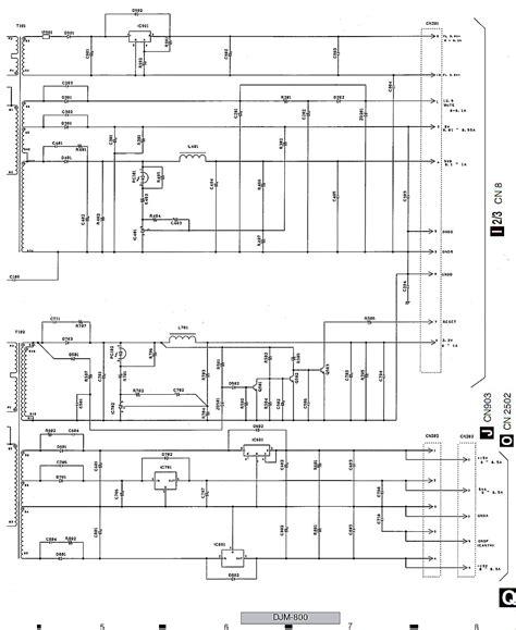 pioneer mixer schematic mixer board elsavadorla