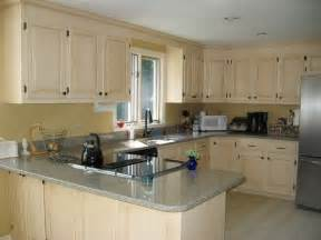 kitchen white wooden kitchen cabinet painting color