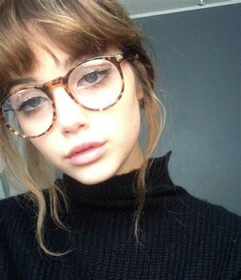 glasses hairstyles tumblr girls glasses and the glass on pinterest