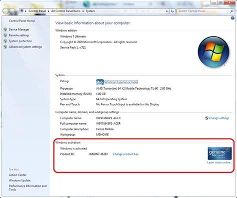 Microsoft Asli Cara Membedakan Windows Asli Dan Palsu Hanamera