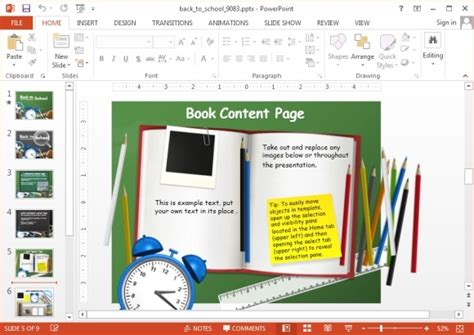 powerpoint templates free school related animated school powerpoint templates
