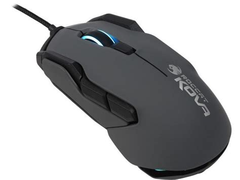 Mouse Gaming Roccat Roccat Kova Rgb Performance Gaming Mouse Black Newegg