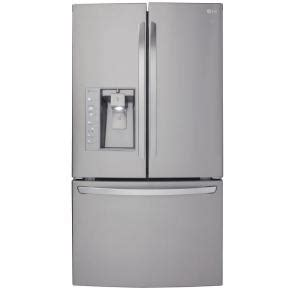 door refrigerator counter depth reviews lg electronics 24 0 cu ft door refrigerator in
