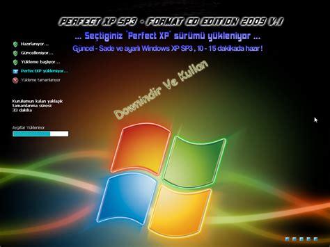 format cd xp sp3 perfect xp sp3 format cd edition 2009 v 1 630 mb