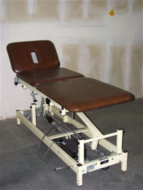 physical therapy tables for sale used med ortho 28535 physical therapy table for sale