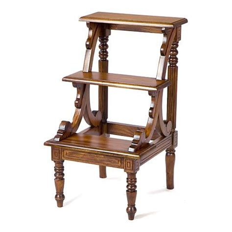 Library Step Stool Plans by Ladder Chair Library Step Stool Woodworking Projects Plans