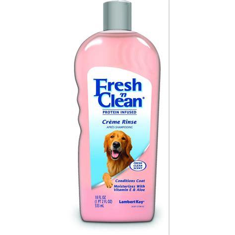 Fresh N Clean Original Scent Crme Rinse 18oz fresh n clean original scent creme rinse for dogs